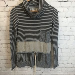 Anthro Saturday Sunday Crowl Neck Sweater Size S